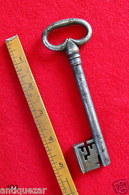 Rare 17th - 18th C. French Antique Long Skeleton Key - Own A Piece of History!
