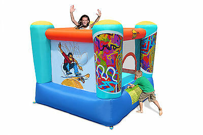 Duplay Fantastic Skate 7ft x 6.5ft Childrens Bouncy Castle