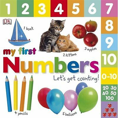 Numbers Let's Get Counting DK Children Board book 9781405370127