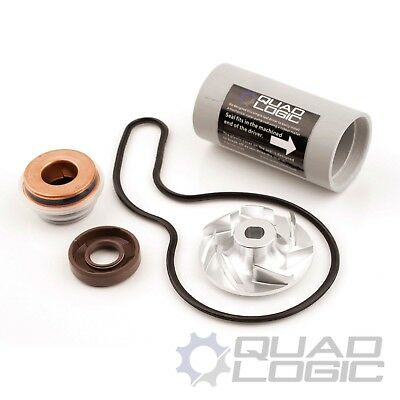 Polaris RZR Sportsman Ranger Water Pump Rebuild Kit - Seals, Driver, Impeller