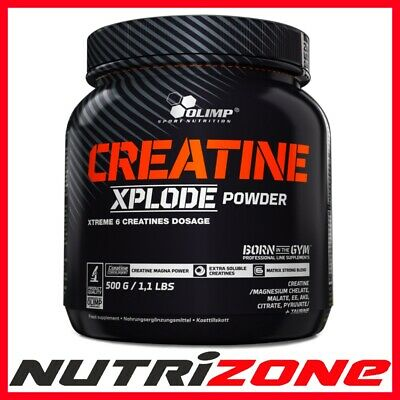 OLIMP Creatine Xplode Powder 500g Strong Creatine Magna Taurine Magnesium Power