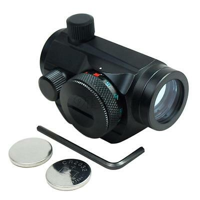 Tactical Holographic Reflex Red Green Dot Sight Scope Picatinny Rail Mount SR1G