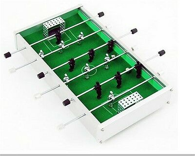 Metal Portable Mini Soccer Foosball Tabletop Football Game Kids Toy