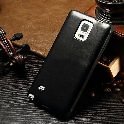 Luxury Ultra Slim Leather Case Cover For Samsung Galaxy Note 4 S6 & iPhone 6