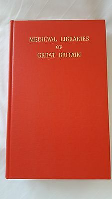 Royal Historical Society Medieval Libraries of Great Britain Book
