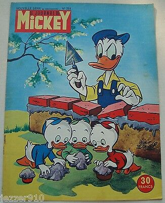 ¤ LE JOURNAL DE MICKEY n°264 ¤ 16/06/1957