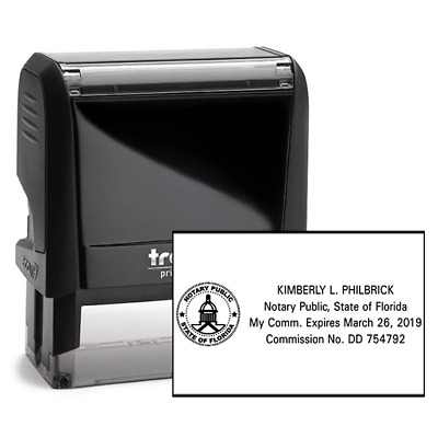 Notary Public | Florida | Trodat 4913 | Self-Inking Stamp (FL-NOTARY)