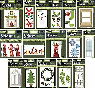 Crafters Companion Die'sire Christmas 2015 Classiques Dies & Cardmaking Projects