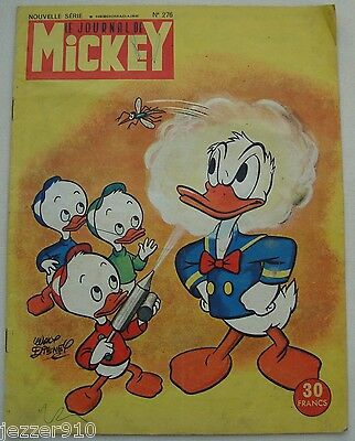 ¤ LE JOURNAL DE MICKEY n°276 ¤ 08/09/1957