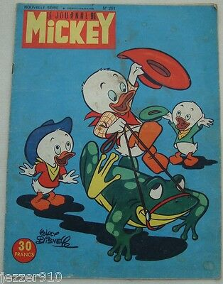 ¤ LE JOURNAL DE MICKEY n°281 ¤ 13/10/1957