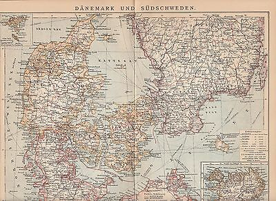 1928 Stadtplan Landkarte / Antique City Map OSLO * Norwegen Norway Skandinavien