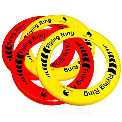 Pack of 12 Flying Rings - Fun Outdoor Summer Toys - Frisbee Type Toys
