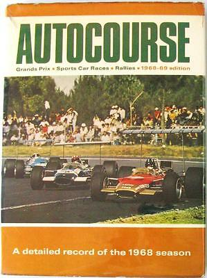 Autocourse 1968-69 Graham Hill Lotus Formula One Racing Car Book