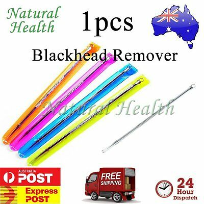 1pcs Blackhead Remover Comedone Acne Pimple Pore Blemish Extractor Needle Tool