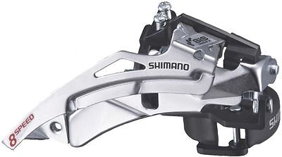 SHIMANO FD-M190A Front Derailleur, Top Swing 3x7/8 Speed With Clamp, X17