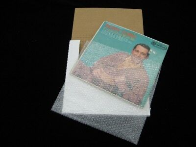 "100 - 13""x13"" Clear Bubble Pouches - Great For Protecting LP's - SHIPS FREE!"