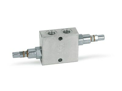 "Dual cross line relief valve 3/8"" 1/2"" 3/4"" Ports in stock (next day delivery)"