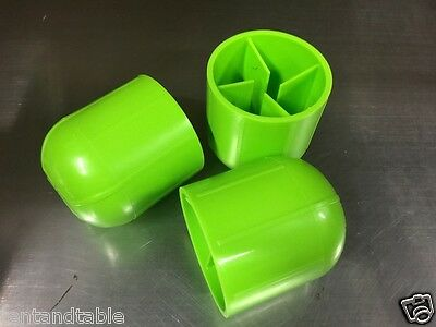25 Tent Stake Caps Green Cap Cover Anchor Awning Backyard Party Tents Canopy