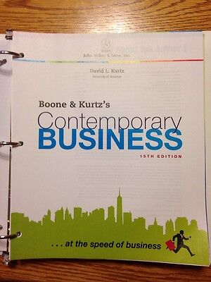 Boone and kurtz contemporary business entrepreneurship edition 16th boone kurtzs contemporary business 15th edition 9781118291987 fandeluxe Choice Image