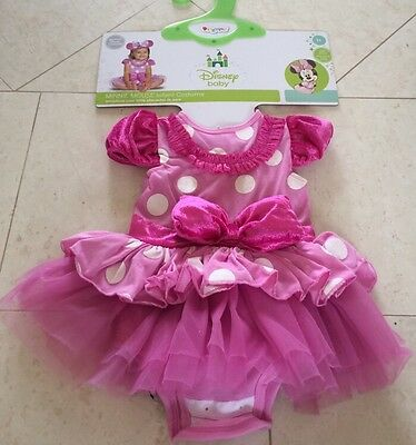 NWT Infant Girl MINNIE MOUSE Disney Costume Size 12-18 Months