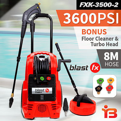 NEW Blast FX 3600PSI High Pressure Washer Cleaner Electric Water Pump Hose clean