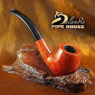 Mr.Brog HAND MADE OAK WOOD STAND RACK HOLDER type F5 brown -for 5 smoking Pipes