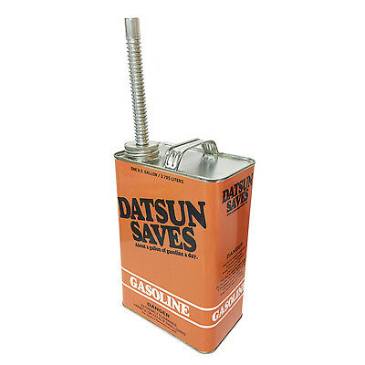 Datsun Saves Gas Tribute Decorative Gas Can with Spout