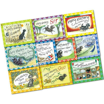 Hairy Maclary & Friend Collection Lynley Dodd 10 Book Set Pack With Bag English