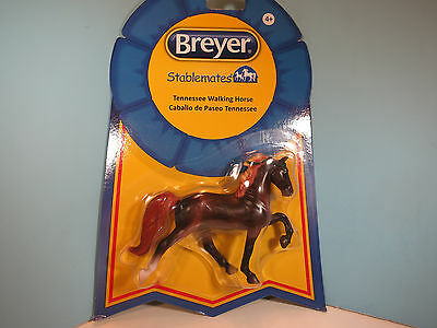 BREYER STABLEMATE Tennessee Walking Horse Mare-Liver Chestnut Horse-New