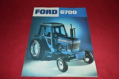 Ford 6700 Tractor Dealer's Brochure YABE