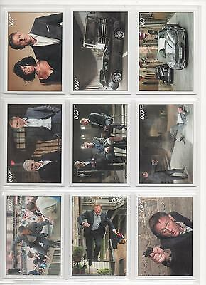 James Bond-Archives 2015 Edition  Full 90  Card Quantum Of Solace Base Set