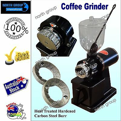 Freshly grounded coffee bean grinder with commercial quality Carbon Steel Burr