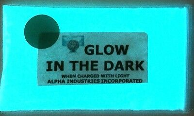 Glow in the Dark Pigment Powder in BRIGHTEST AQUA GLOW colour from UK SELLER