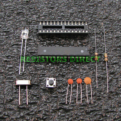 Arduino Breadboard Basic Kit - ATMEGA328P-PU With Bootloader 16MHz Crystal G36