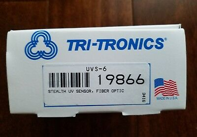 """NIB"" TRI-TRONICS UVS-6 ,or 19866,Stealth UV sensor,fiber optic.UVS-6"