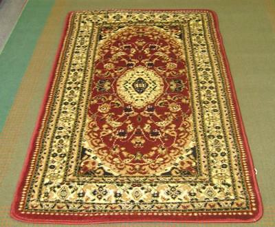 New Persian Design Heatset Floor Hallway Runner Rug 80X150Cm