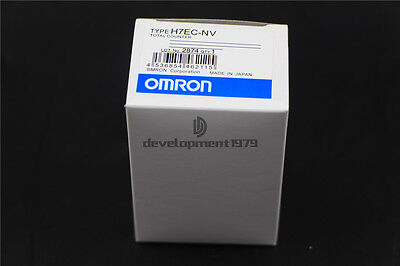 New OMRON Digital Total Counter H7EC-NV 8Digits LCD Display