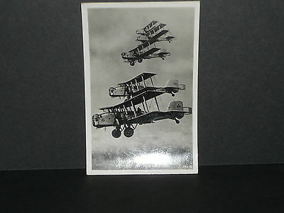 """Military/Aircraft  - """"Overstrand"""" Bombers flying in formation r/p"""