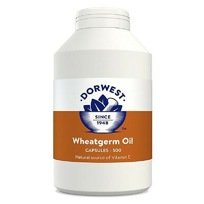 Dorwest Wheatgerm Oil Capsules 500, Premium Service, Fast Dispatch