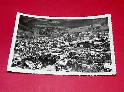 Cpa 1950-60 Bourganeuf Vue Aerienne Creuse Limousin