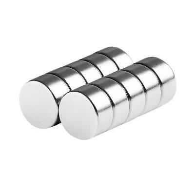 1/2 x 1/4 Inch Large Strong Neodymium Rare Earth Disc Magnets N48 (10 Pack)