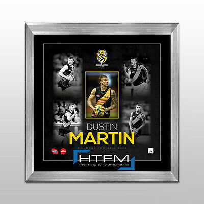 Dustin Martin Richmond Tigers AFL Player Print Framed - OFFICIAL AFL MEMORABILIA