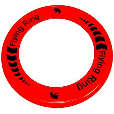 Red Flying Ring - Fun Outdoor Summer Toy - Frisbee Type Toy