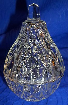 Vintage Cristal D'Arques, France, Miniature Candy Dish With Cover