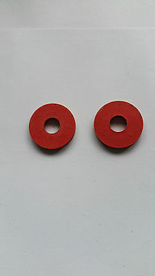 Replacement rubber seals/washers for swing top bottle stoppers pack of 2