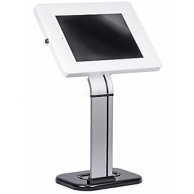 Anti Theft iPad Tablet Desk Mount Stand Secure Holder Kiosk POS Counter PAD1503W