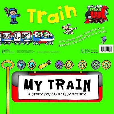 Convertible My Train Phillip, Gallagher Miles Kelly Board book 9781782092049
