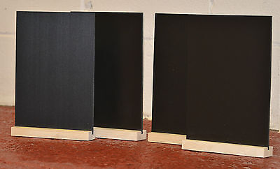 CHALKBOARD BLACKBOARD  TABLE TOP A4 x 4 FOR USE WITH LIQUID CHALK PENS