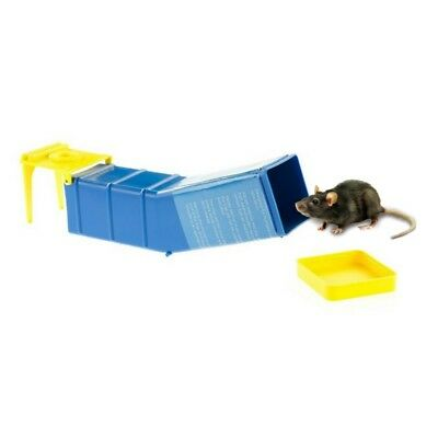 HUMANE MOUSE TILT TRAP - Catches & Traps Mice Safely Live Catch Safe & Reusable