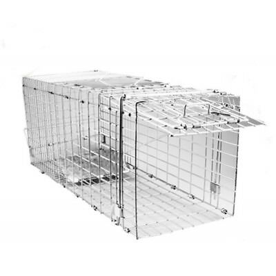 POSSUM & FERAL CAT TRAP Humane Mesh Wire Animal Control Trapping Large Foldable